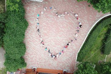 День семьи, любви и верности в детском лагере Центра русской культуры